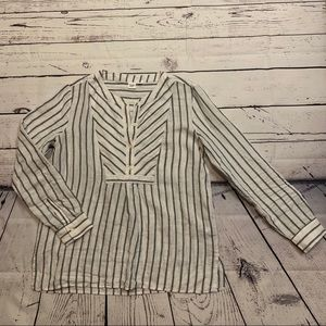 GAP 100%linen long sleeve shirt